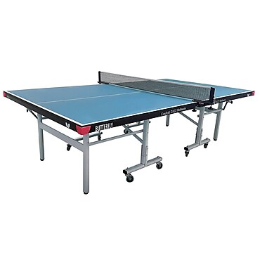 Butterfly Easifold Indoor Playback Table Tennis Table; Blue