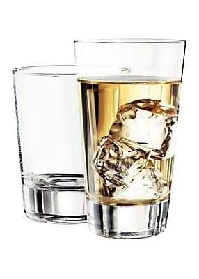 Libbey Geo 16 Piece Glass Set WYF078281740281