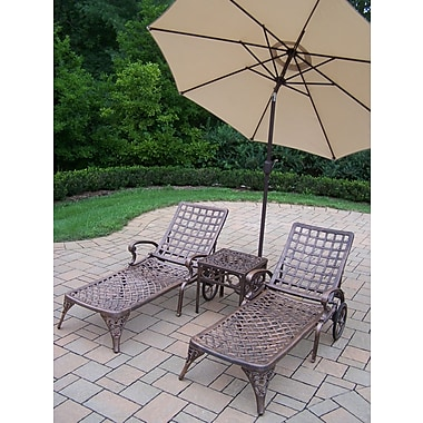 Astoria Grand Thelma 5 Piece Lounge Seating Group Set; Beige