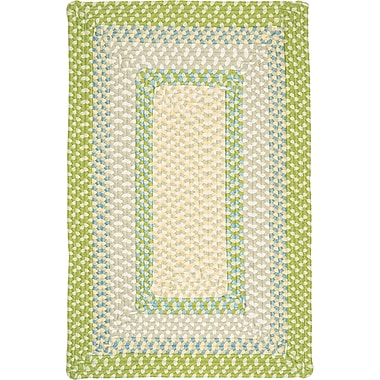 Bay Isle Home Marathovounos Lime Twist Kids Indoor/Outdoor Area Rug; Runner 2' x 12'