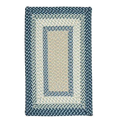 Bay Isle Home Marathovounos Blue Burst Kids Indoor/Outdoor Area Rug; 8' x 11'