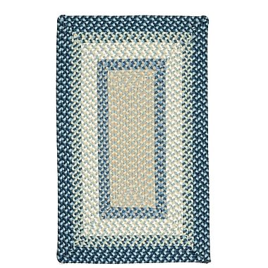 Bay Isle Home Marathovounos Blue Burst Kids Indoor/Outdoor Area Rug; Square 10'