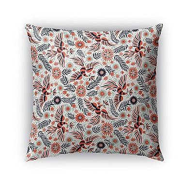 Bungalow Rose Geraldine Indoor/Outdoor Throw Pillow; 16'' x 16''