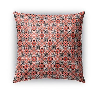 Bungalow Rose Glenoe Indoor/Outdoor Throw Pillow; 16'' x 16''