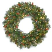 The Holiday Aisle 30'' Ornament Spruce Wreath