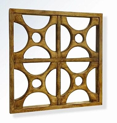 Brayden Studio Mango Wood Accent Mirror WYF078281736706