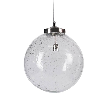 Latitude Run Shamong 1-Light Metal Globe Pendant
