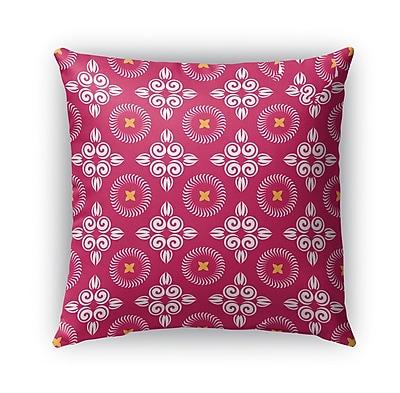 Bungalow Rose Boylston Indoor/Outdoor Throw Pillow; 16'' x 16''