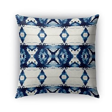 Bungalow Rose Florine Indoor/Outdoor Throw Pillow; 16'' x 16''
