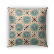 Bungalow Rose Galleria Bloom Outdoor Throw Pillow; 16'' x 16''