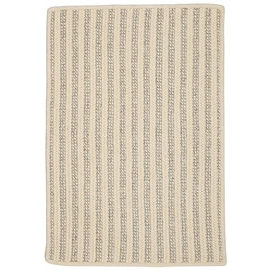 Gracie Oaks Cadenville Hand-Woven Natural Wool Area Rug; 12' x 15'