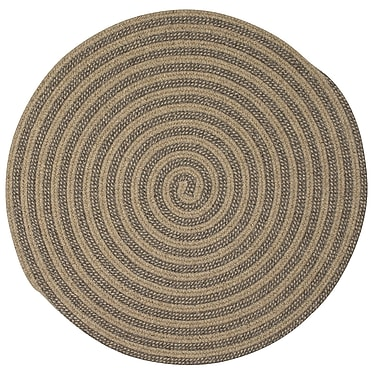 Gracie Oaks Cadenville Hand-Woven Area Rug; Round 9'