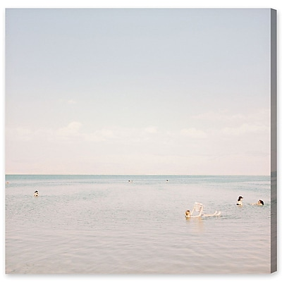 Highland Dunes 'Beach PCanvas Arty' Photographic Print on Wrapped Canvas; 30'' H x 30'' W x 1.5'' D