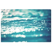 Highland Dunes 'Sparkling Sea' Photographic Print on Wrapped Canvas; 40'' H x 60'' W x 2'' D