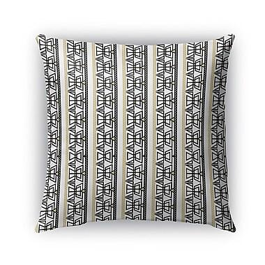 Bloomsbury Market Davenport Indoor/Outdoor Throw Pillow; 16'' x 16''