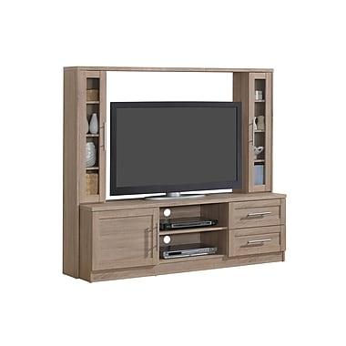 Techni Mobili – Centre de divertissement avec espace de rangement, pour téléviseurs jusqu'à 50 po, sable, (RTA-1820-SND)