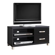 "Techni Mobili Modern TV Stand With Storage For TVs Up To 40"", Black (RTA-8896-BK)"