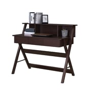Techni Mobili Writing Desk With Storage, Wenge (RTA-8400-WN)