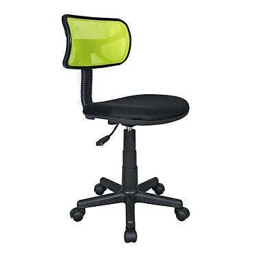 Techni Mobili – Chaise de bureau en filet pour étudiant, vert lime (RTA-M101-LM)