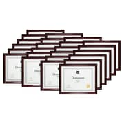 "Kiera Grace Harper Document Frame, 8.5 x 11"", Dark brown, 24/Set (PH43804-1MC)"