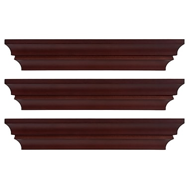 Kiera Grace Madison Contoured Wall Ledge & Shelf, 16