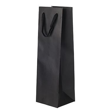 Creative Bag – Sac fourre-tout Manhattan, 4,5 x 4,5 x 15 po, noir Broadway, 200/paquet
