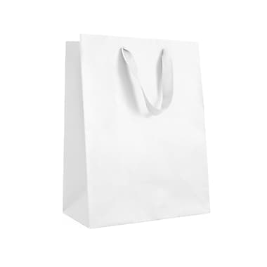 Creative Bag ? Sac fourre-tout Manhattan, 5 x 4 x 6 po, blanc Wall Street