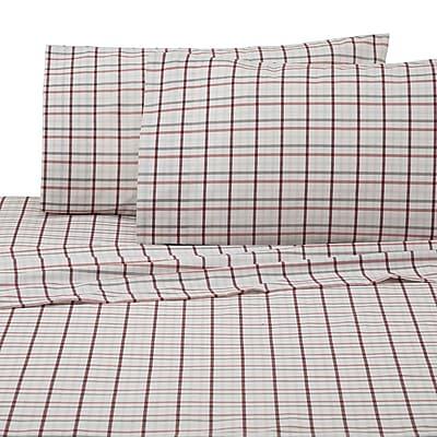 IZOD Carter 225 Thread Count Sheet Set; Queen