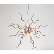 CrystalWorld Twist 15-Light Sputnik Chandelier