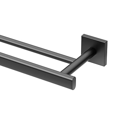 Gatco Elevate Double 24'' Wall Mounted Towel Bar