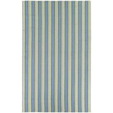 Highland Dunes Artique Green/Blue Area Rug; 5' x 8'