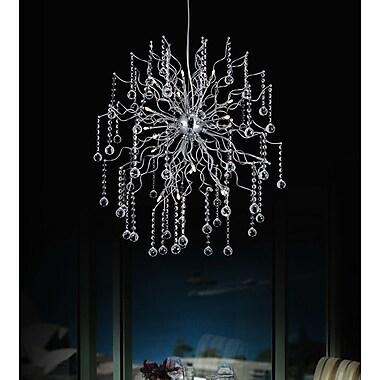 CrystalWorld Cherry Blossom 20-Light Sputnik Chandelier