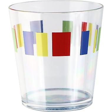 Corelle Coordinates 14 oz. Drinkware Set w/ Memphis Design