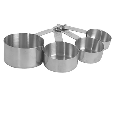Thunder Group Inc. 4 Piece Stainless Steel Measuring Cup Set WYF078281742728