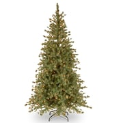 The Holiday Aisle Shenandoah 7.5' Blue Pine Artificial Christmas Tree w/ 500 Clear Lights