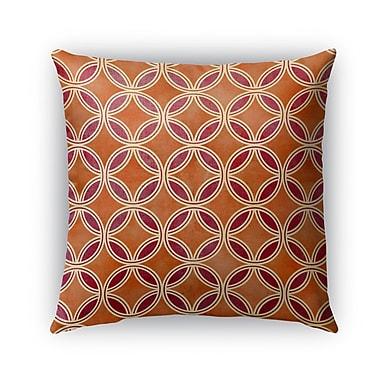 Bloomsbury Market Davis Indoor/Outdoor Throw Pillow; 18'' x 18''