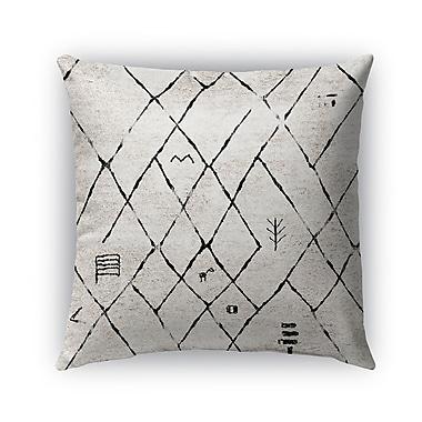 Bloomsbury Market Dobson Indoor/Outdoor Throw Pillow; 18'' x 18''