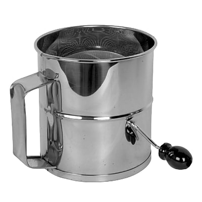 Thunder Group Inc. 8 Cup Stainless Steel Flour Sifter WYF078281742724
