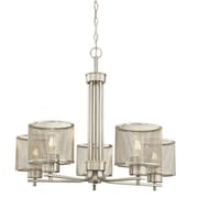 Longshore Tides Theodora  Indoor 5-Light Drum Chandelier