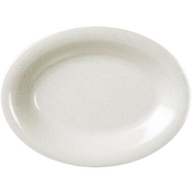 Winston Porter Adelle Oval Platter (Set of 12); 1.02'' H x 11.5'' W x 8'' D