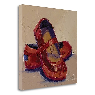 Red Barrel Studio 'Little Miss' Print on Wrapped Canvas; 25'' H x 25'' W