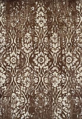 Bungalow Rose Hansley Chocolate Area Rug; 3'3'' x 5'1''