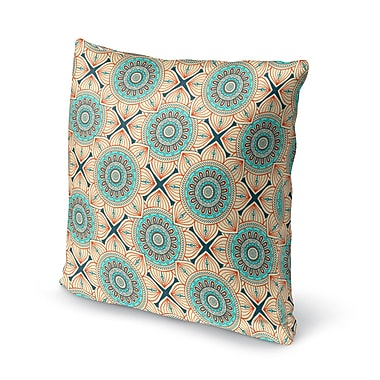 Bungalow Rose Galleria Bloom Accent Throw Pillow; 16'' x 16''