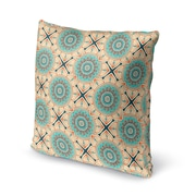 Bungalow Rose Galleria Bloom Accent Throw Pillow; 18'' x 18''