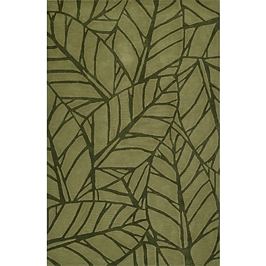 Latitude Run Gorham Hand-Woven Fern Area Rug; 8' x 10'