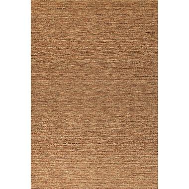 Latitude Run Glenville Hand-Woven Wool Sunset Area Rug; 5' x 7'6''