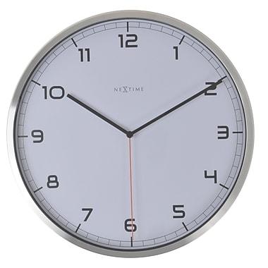 Latitude Run Round Aluminum 13.78'' Wall Clock