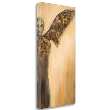 Red Barrel Studio 'The He Angel' Print on Wrapped Canvas; 34'' H x 17'' W