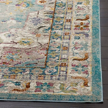 Bungalow Rose Andy Green Area Rug; Runner 2' x 8'