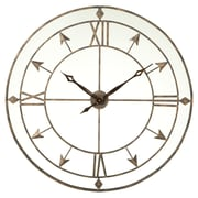 Darby Home Co Oversized Rexroad Open Roman Numeral Arrow 36.25'' Wall Clock